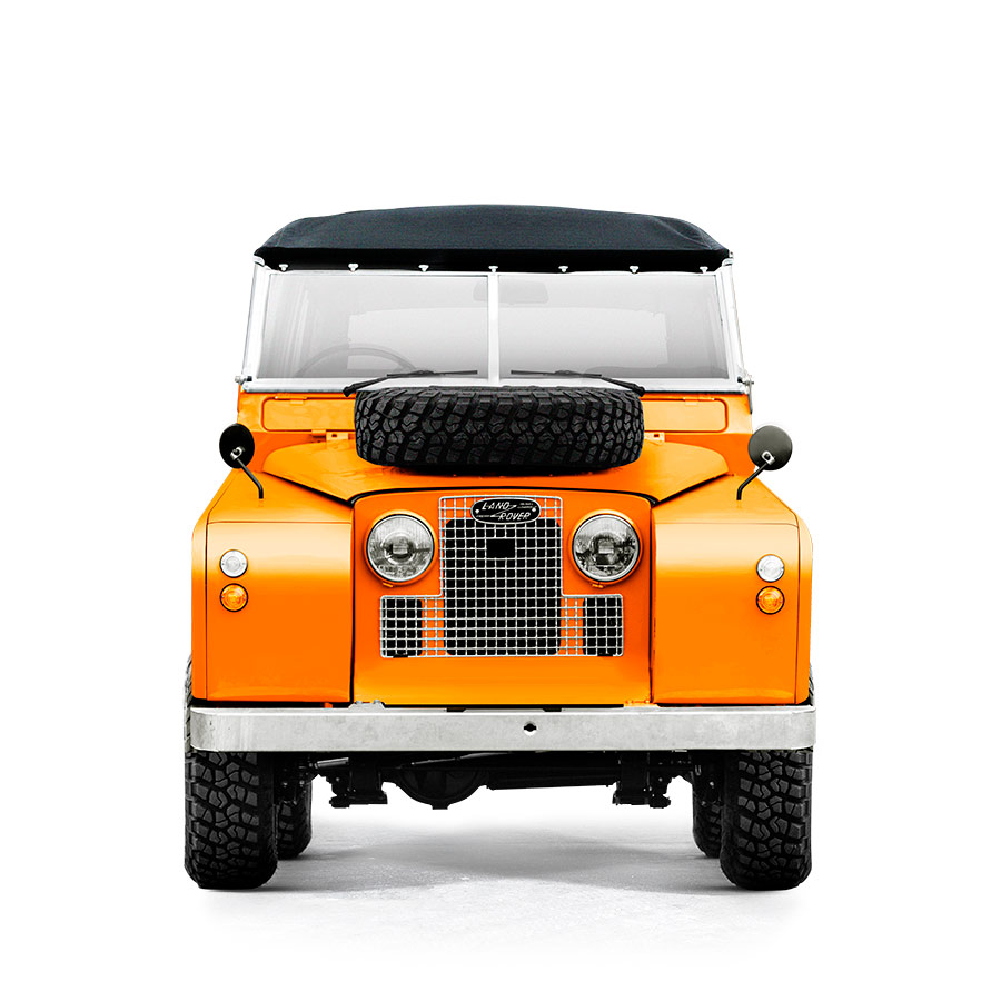 Landrover Series 2A Orange