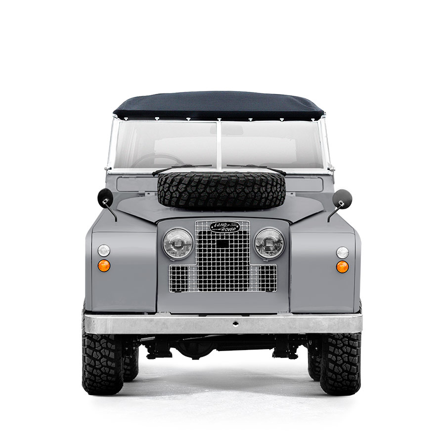 Landrover Series 2A Welsh Grey