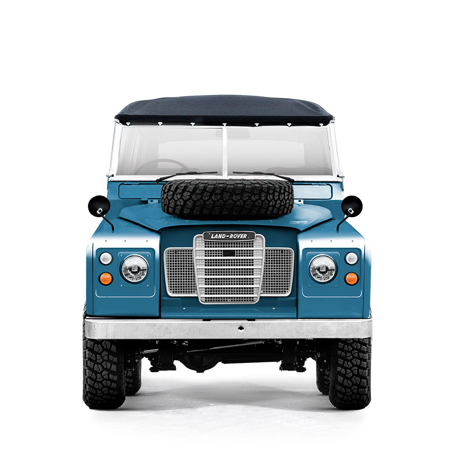 Landrover Series 3 Marine Blue