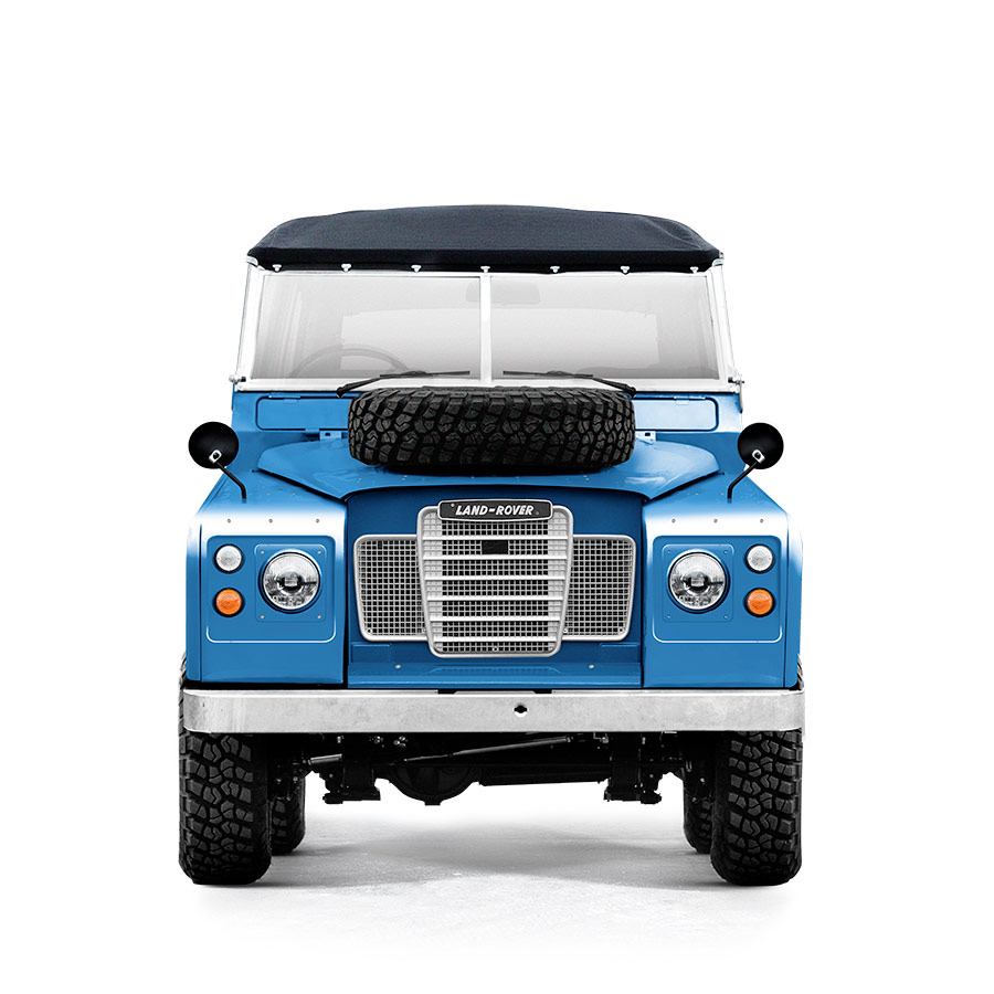 Landrover Series 3 Miami Blue