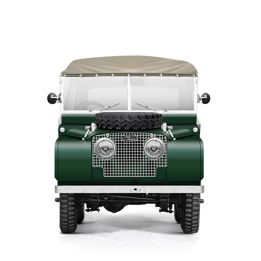Landrover Series 1 Green