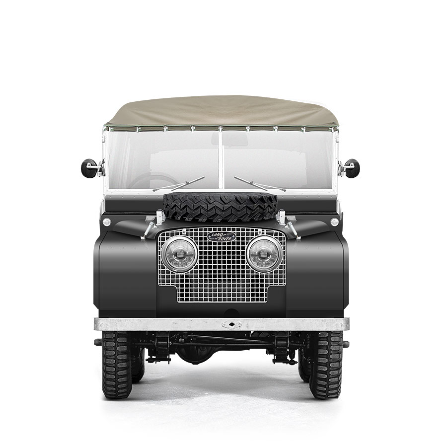 Landrover Series 1 Grey